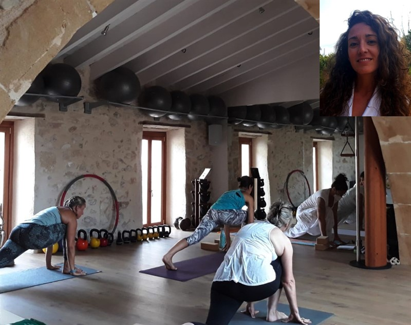 Get Information and buy tickets to Vinyasa Yoga con Lili  on Jimmy's Exclusive Club and Bar