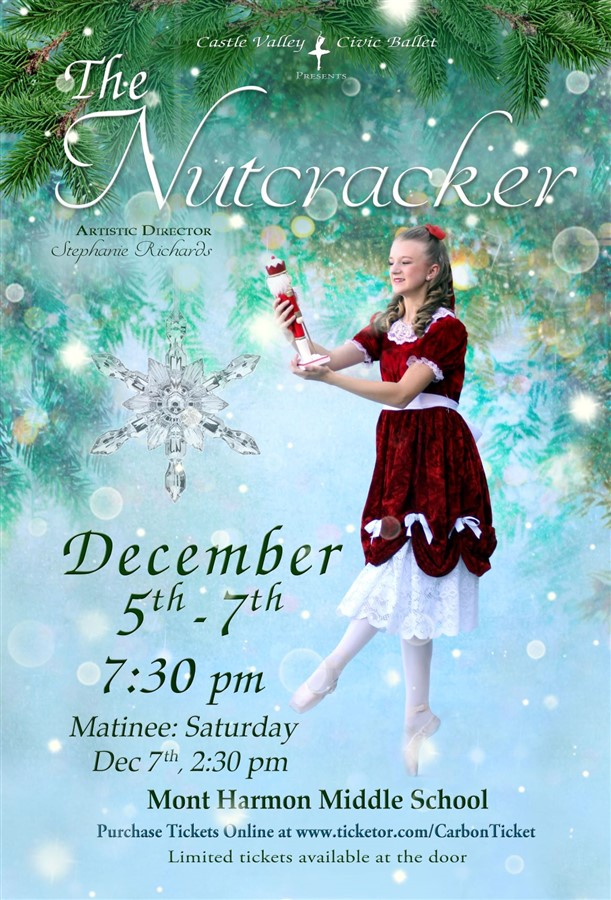 Get Information and buy tickets to The Nutcracker By Castle Valley Civic Ballet on Carbon Ticket