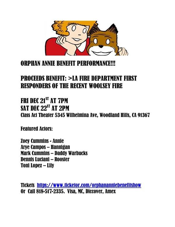 Copy-Orphan Annie Benefit Show