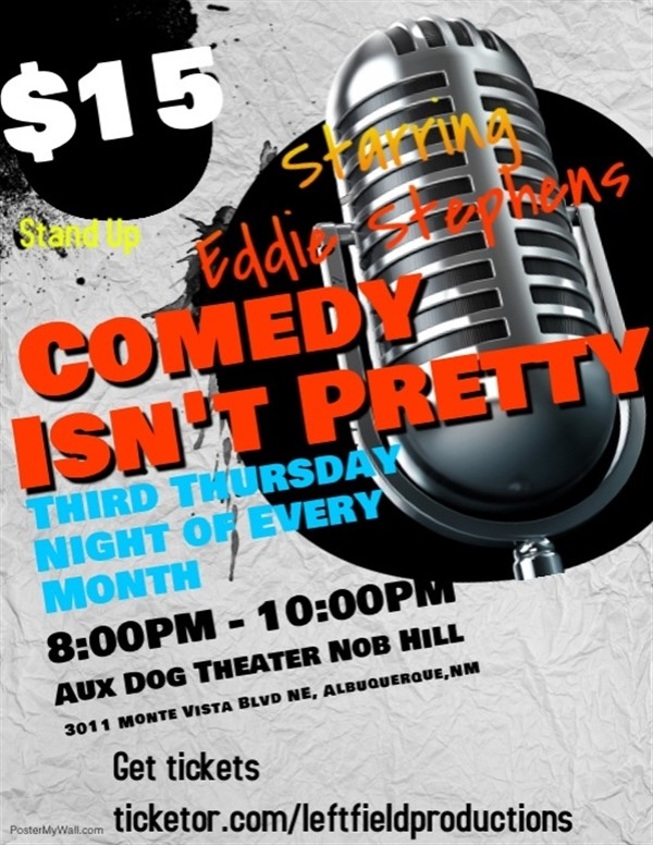 Get Information and buy tickets to Comedy Isn
