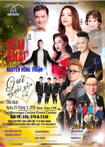 Live Show Nguyễn Hồng Thuận in  USA