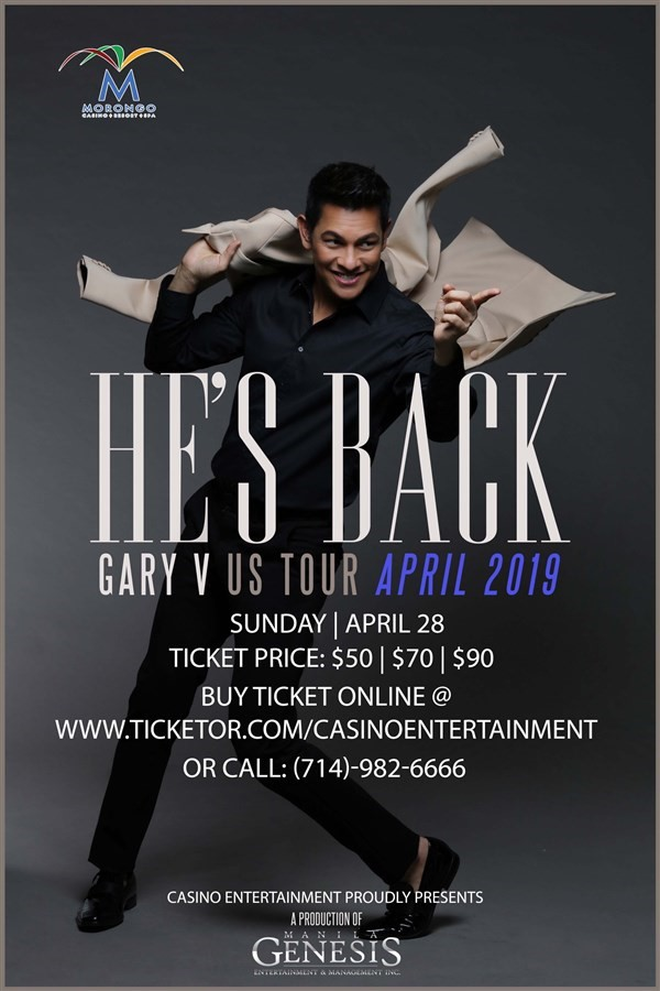 Get Information and buy tickets to Gary V US Tour He