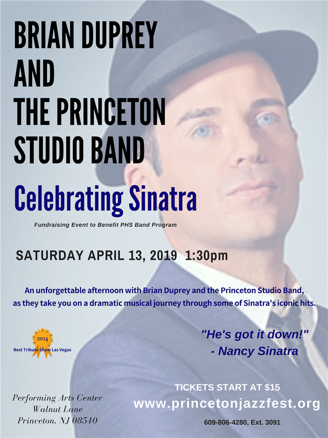 Get Information and buy tickets to Celebrating Sinatra Matinee Fundraising Event on princetonjazzfest.org