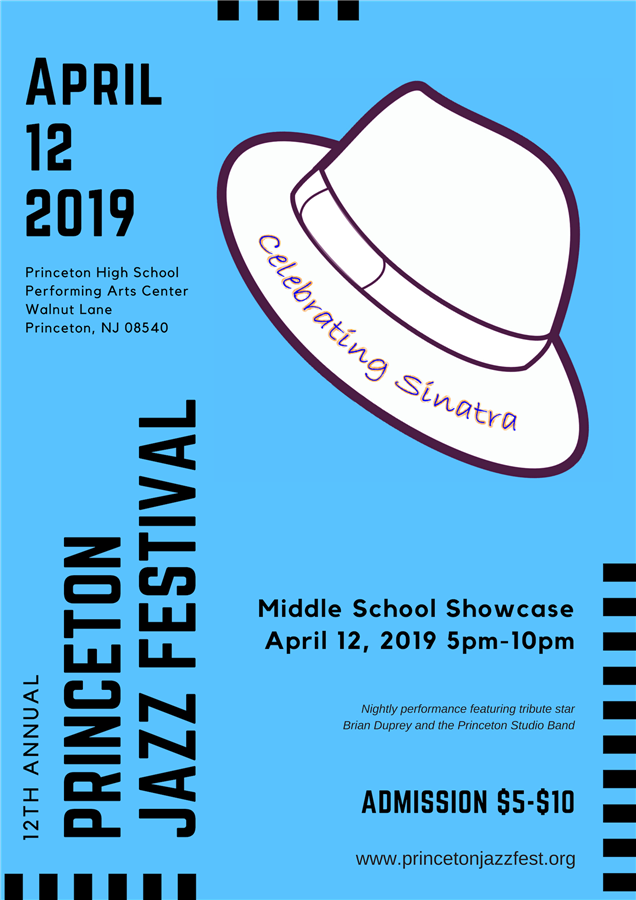 Get Information and buy tickets to 12th Annual Princeton Jazz Festival Middle School Showcase on princetonjazzfest.org