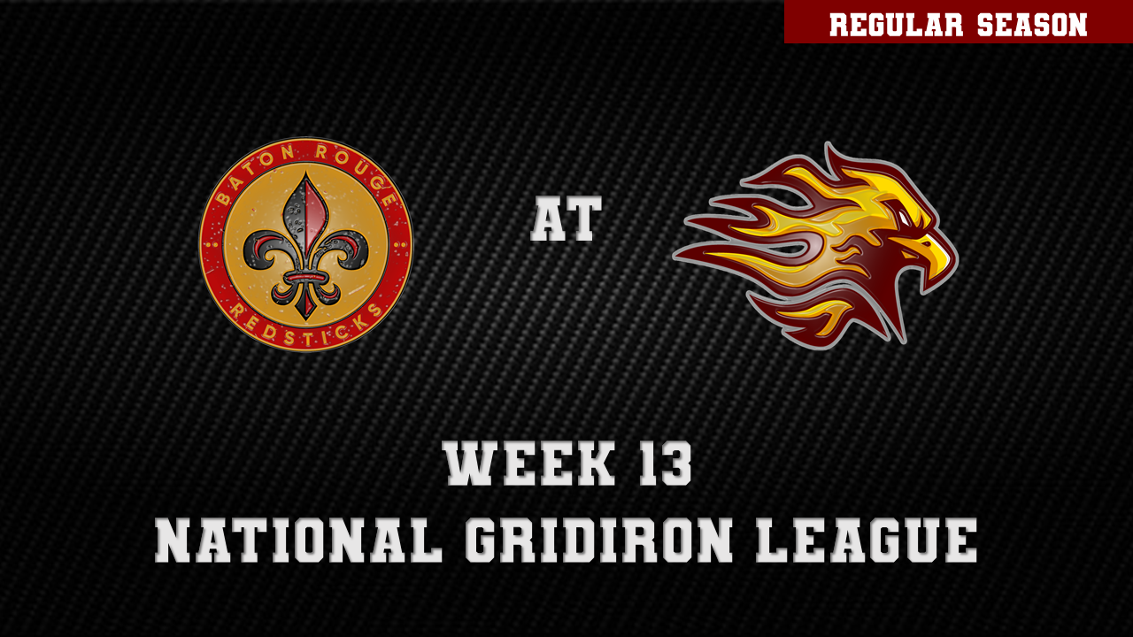 BATON ROUGE REDSTICKS AT LOUISVILLE FIREBIRDS  on Jun 05, 19:00@Jeffersonville High Football Stadium - Pick a seat, Buy tickets and Get information on ngltickets.com