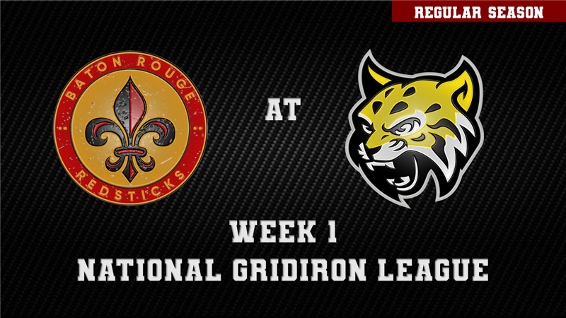 Get Information and buy tickets to BATON ROUGE REDSTICKS AT ATLANTA WILDCATS  on ngltickets.com