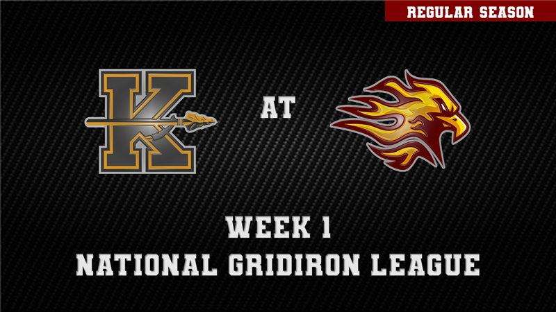 Get Information and buy tickets to KANSAS CITY KAPITALS AT LOUISVILLE FIREBIRDS  on ngltickets.com