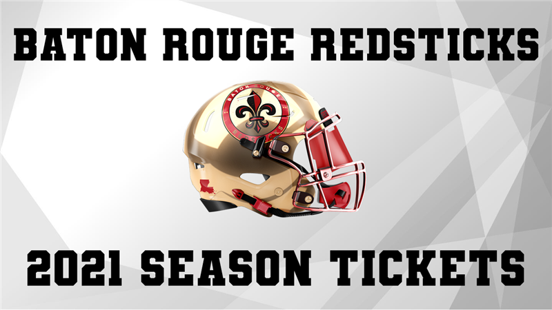 Get Information and buy tickets to BATON ROUGE REDSTICKS SEASON TICKETS  on ngltickets.com