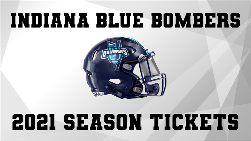 Get Information and buy tickets to INDIANA BLUE BOMBERS SEASON TICKETS  on ngltickets.com