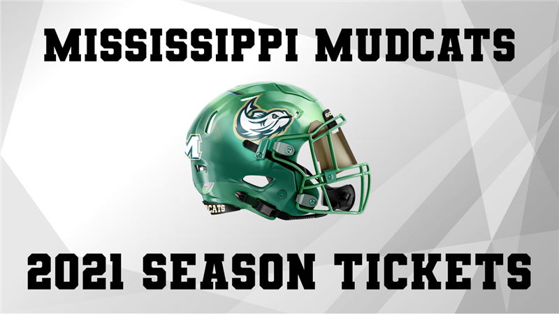 Get Information and buy tickets to MISSISSIPPI MUDCATS SEASON TICKETS  on ngltickets.com