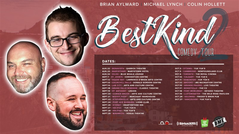 Get Information and buy tickets to Best Kind Comedy Tour  on BRBA