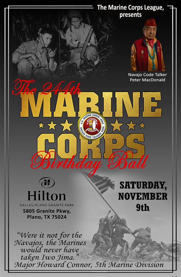 Get Information and buy tickets to 244th Marine Corps Birthday Ball  on 244th Marine Corps Birthday Ball