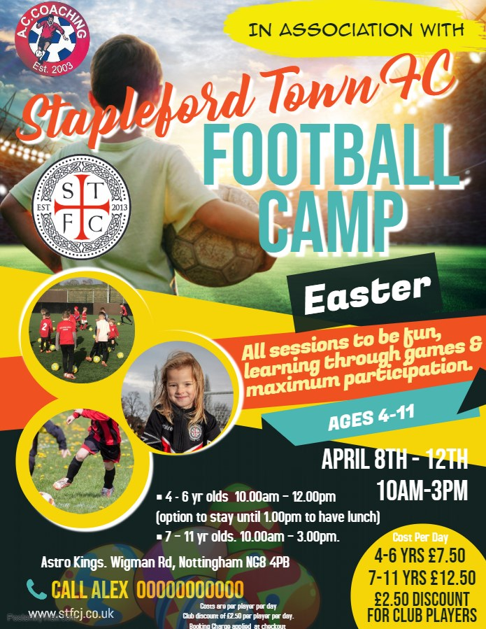 Get Information and buy tickets to Easter Holiday Club Week 1  on Stapleford Town
