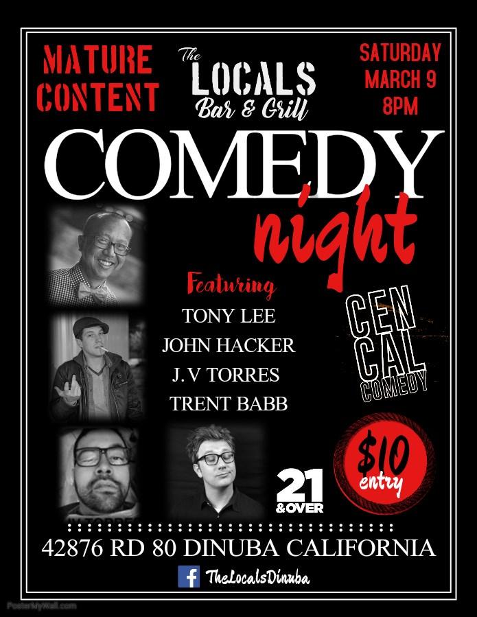 Calendario Mature.The Locals Comedy Night