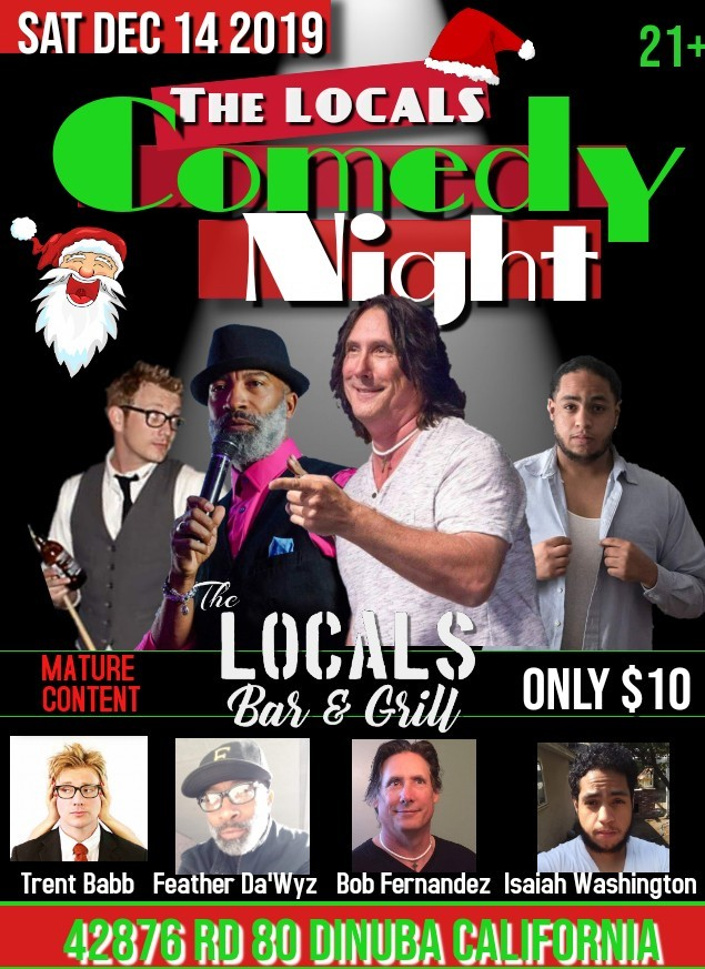 Get Information and buy tickets to The LOCALS Comedy Night  on The LOCALS Bar & Grill