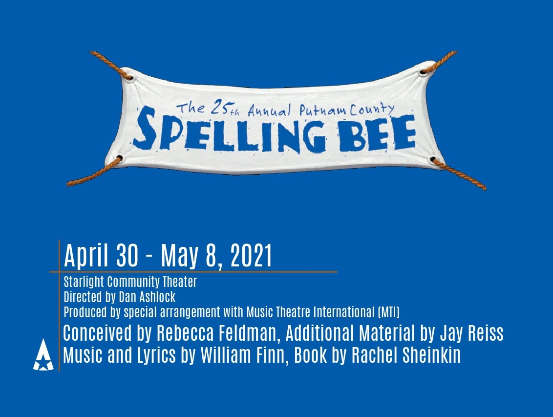 The 25th Annual Putnam County Spelling Bee Adult Cast on may. 08, 19:00@North Pointe Prep outdoor stage - Buy tickets and Get information on Starlight Community Theater starlighttickets