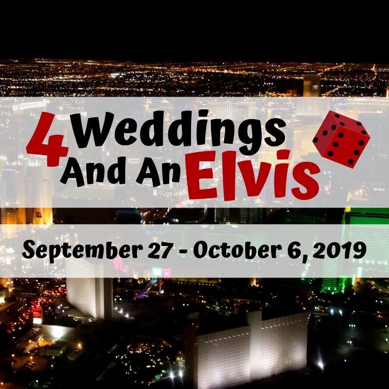 Get Information and buy tickets to 4 Weddings and an Elvis  on Starlight Community Theater