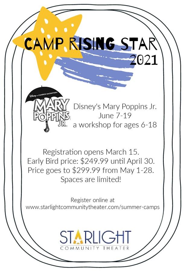 Mary Poppins Jr Camp