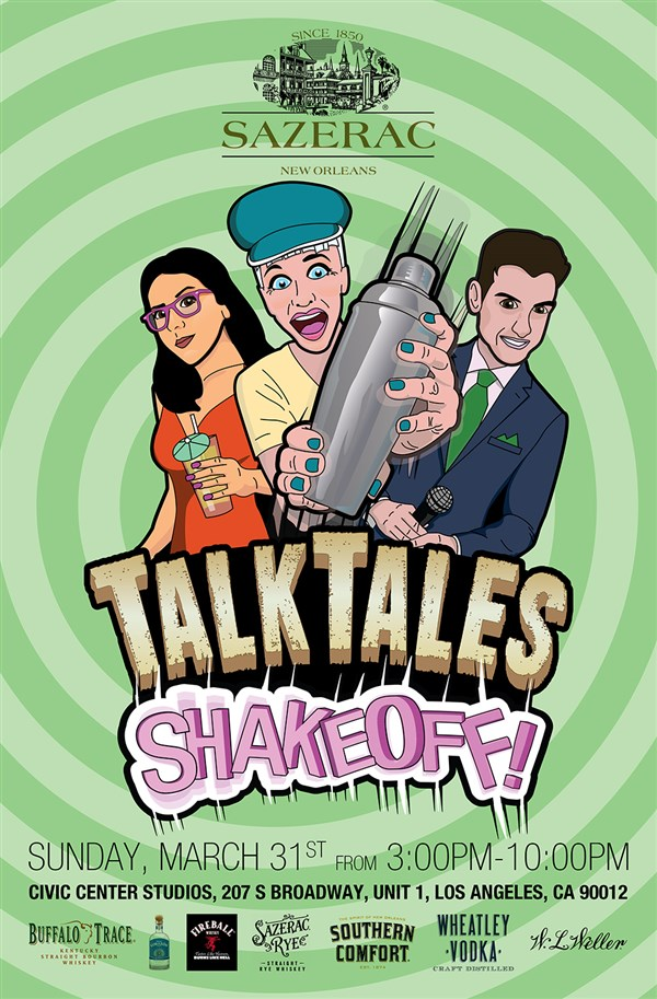 Get Information and buy tickets to Sazerac Presents: TalkTales ShakeOff! A Curious Competition For LA
