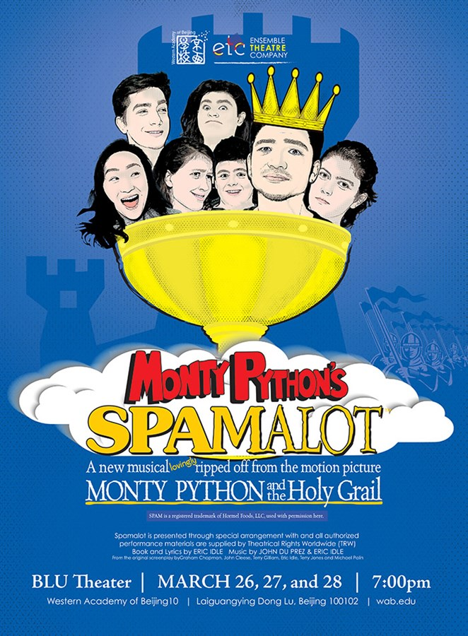Get Information and buy tickets to Spamalot  on WAB Ensemble Theatre Company