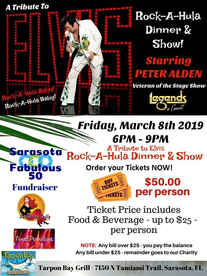 Get Information and buy tickets to Rock-A-Hula Elvis Tribute  on Powell Promotions
