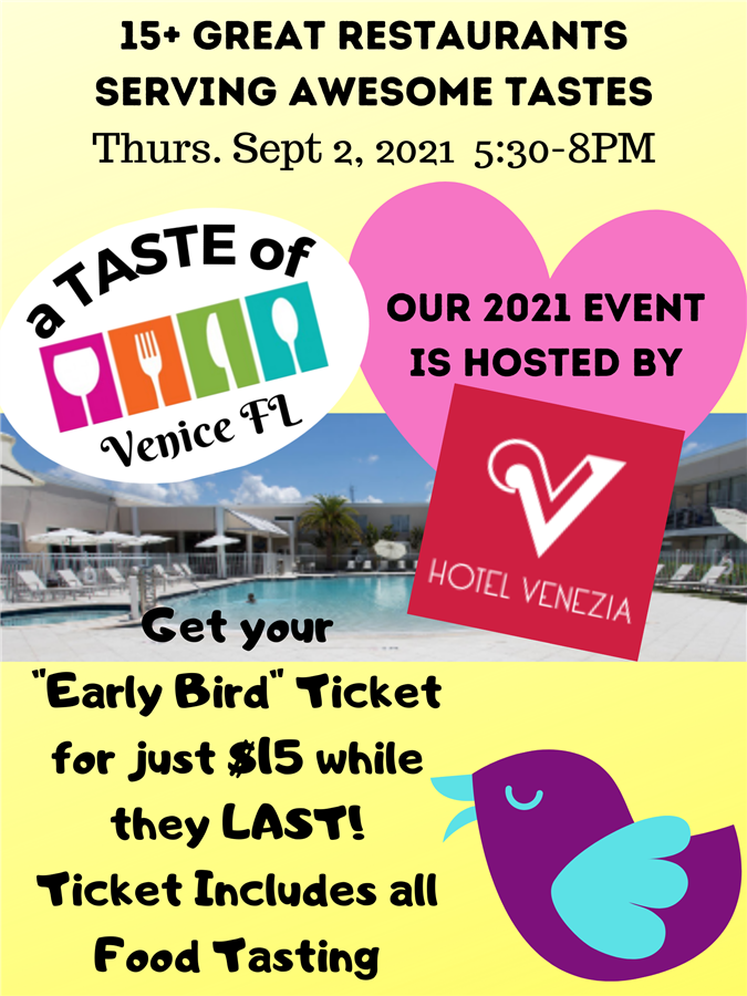 Get Information and buy tickets to A Taste Of Venice FL  on Powell Promotions