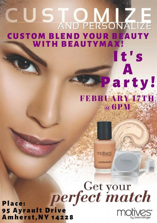 Get Information and buy tickets to Blend Your Beauty w/BeautyMax Get Your Perfect Match on BeautyMax LLC