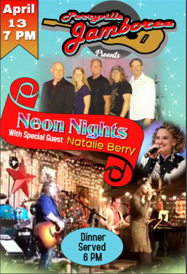 Get Information and buy tickets to Neon Nights With Special Guest - Natalie Berry on PerryvilleJamboree