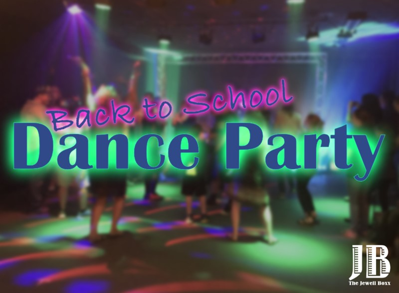 Get Information and buy tickets to Back to School Dance Party For Elementary and Middle School Ages on jewellboxx.com