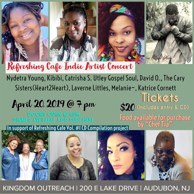 Get Information and buy tickets to Indie Artist Concert Refreshing Cafe CD Compilation Vol. #1 on HP Visual Connections/Entertainment