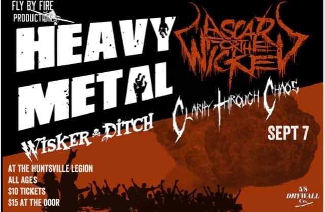 Get Information and buy tickets to Heavy Metal !!!  on Fly By Fire