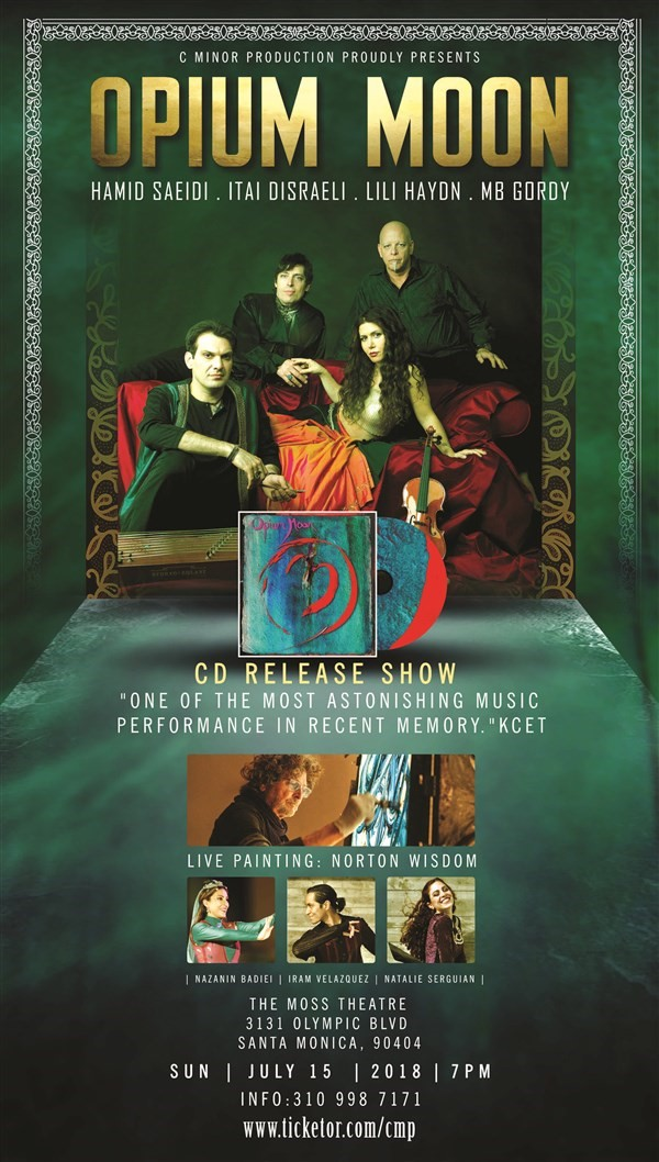 Get Information and buy tickets to OPIUM MOON CD Release show on CMinorProduction