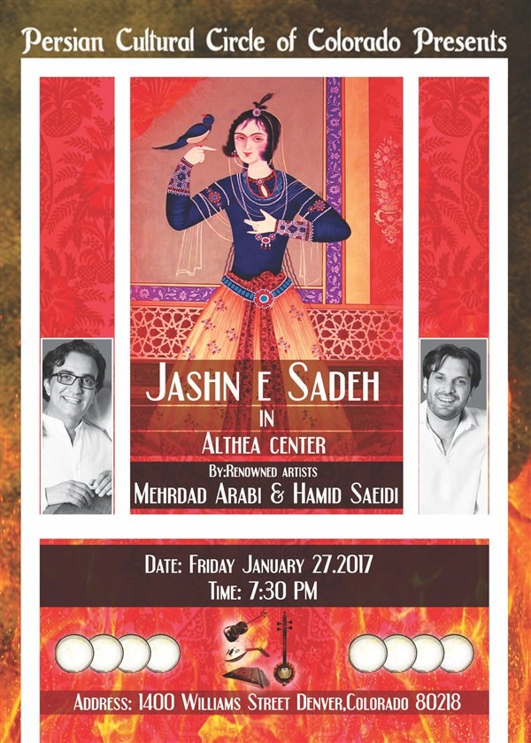 "Get Information and buy tickets to ""Jashn E Sadeh"" The ancient mid-winter festival on CMinorProduction"