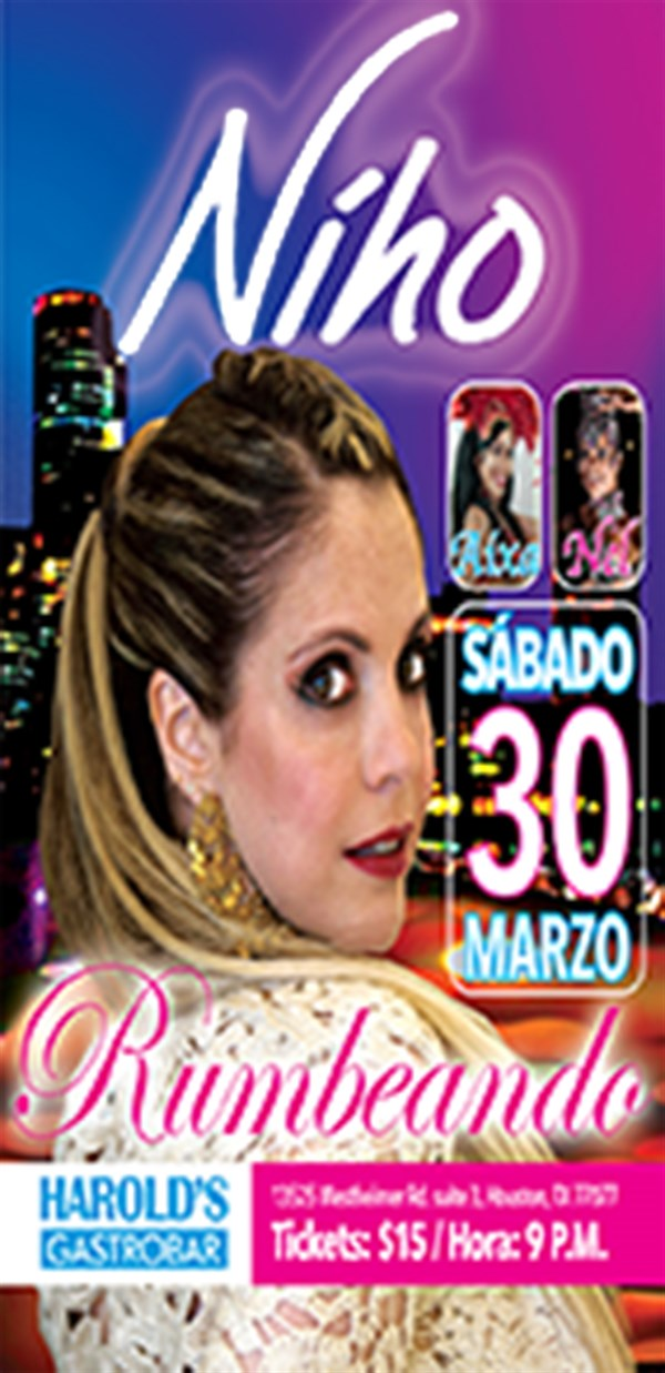 Get Information and buy tickets to Rumbeando  on www.nihomusic.com