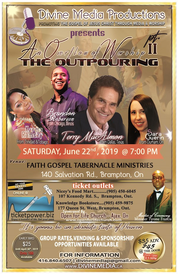 An Overflow of Worship 2 - The Outpouring