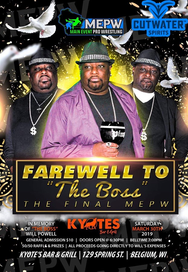 Get Information and buy tickets to MEPW Farewell To The Boss  on MEPW