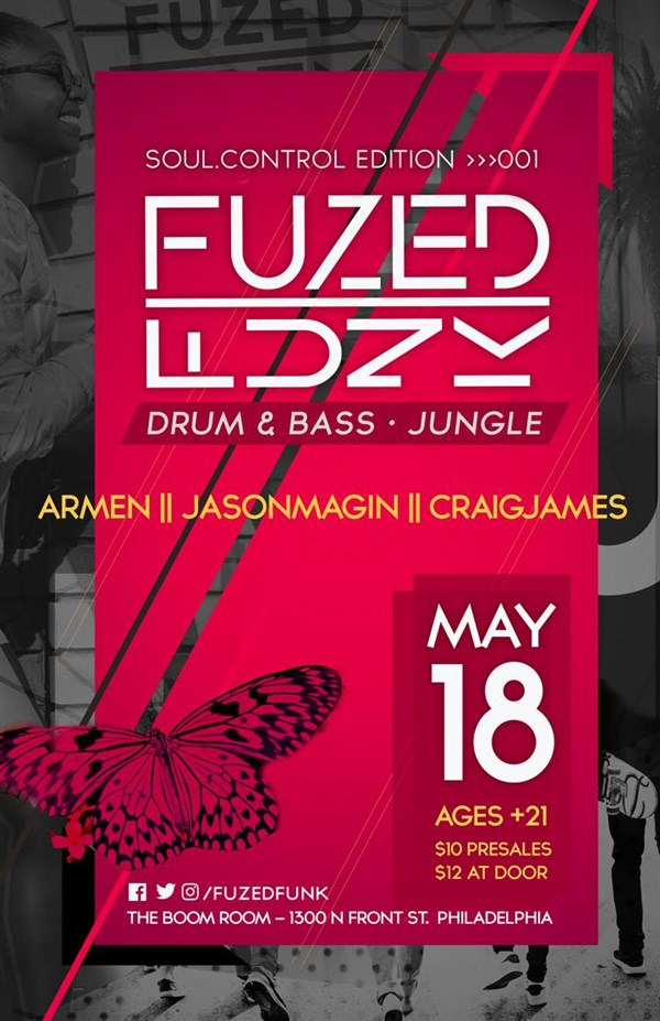 Get Information and buy tickets to FuzedFunk: Soul Control Edition 001 - Drum & Bass/Jungle  on FuzedFunk
