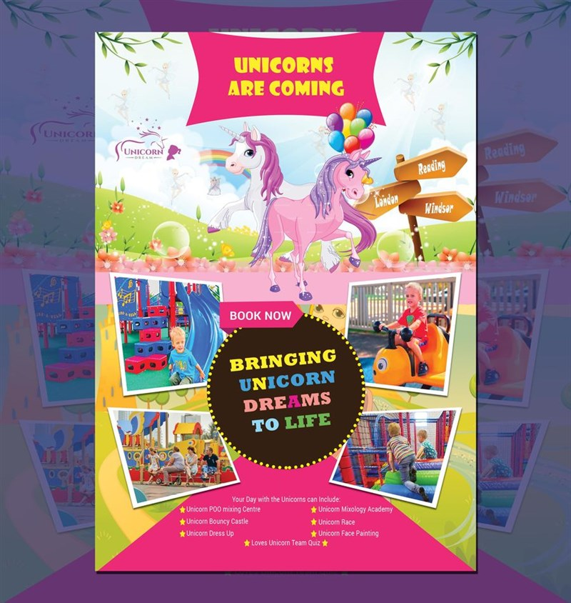 Get Information and buy tickets to Reading Unicorn Experience June 1st 2019 10am to 6pm on Unicorn Dream