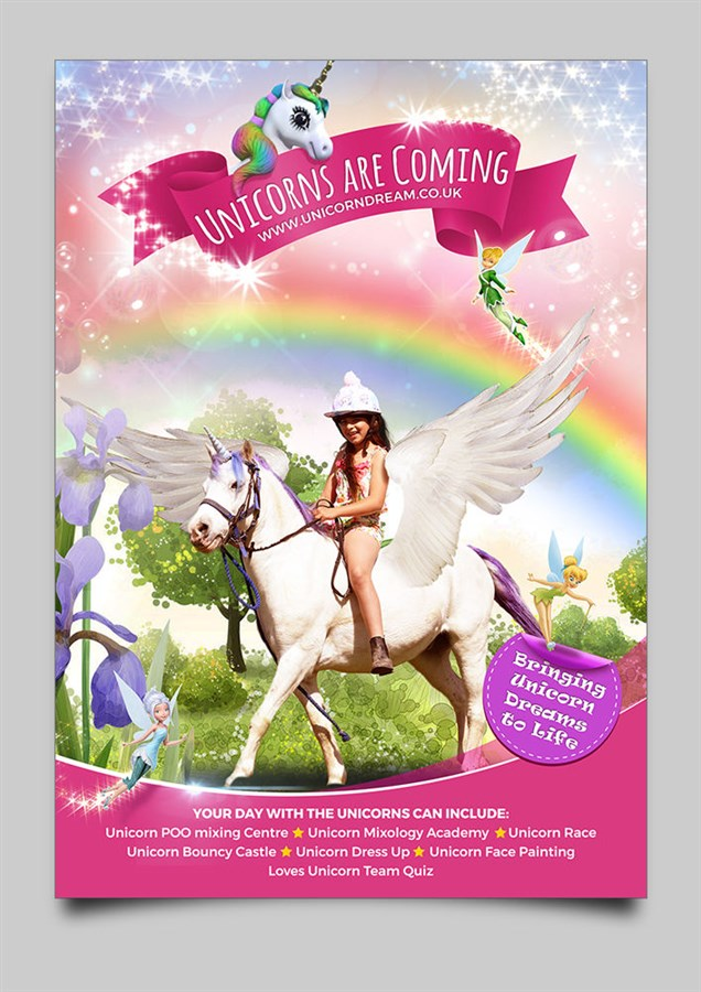 Get Information and buy tickets to Guildford Unicorn Experience June 15th 2019 10am to 6pm on Unicorn Dream