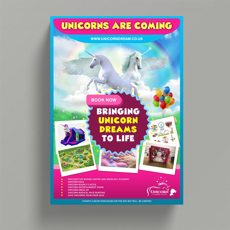 Get Information and buy tickets to Slough Unicorn Experience June 29th 2019 10am to 6pm on Unicorn Dream