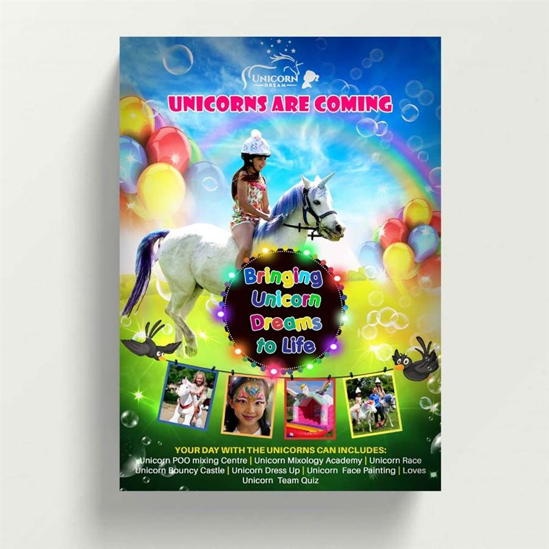 Get Information and buy tickets to Manchester Unicorn Experience July 22nd 2019 10am to 6pm on Unicorn Dream