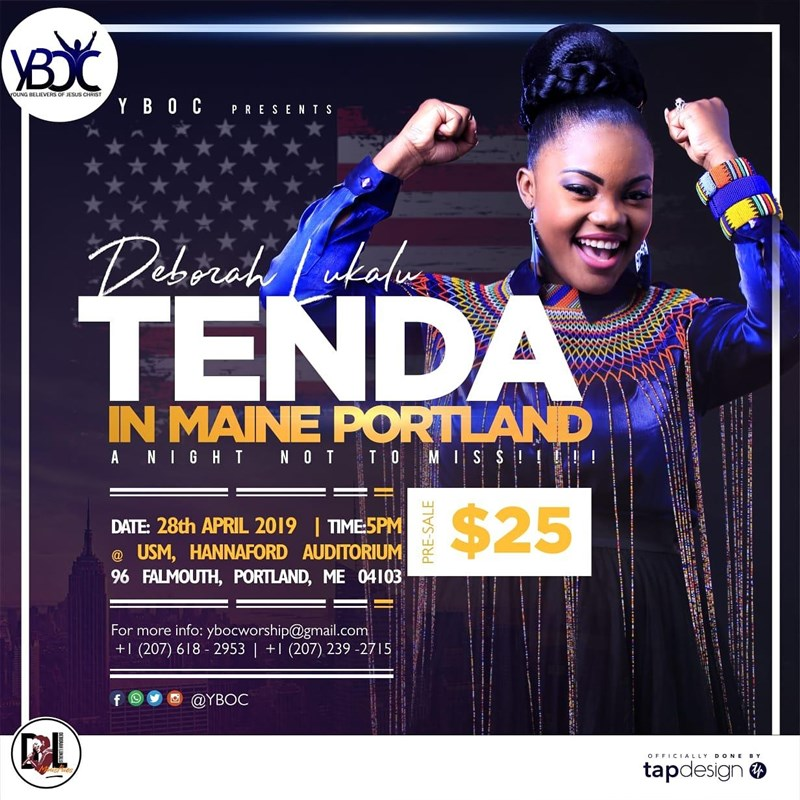 Get Information and buy tickets to Tenda Concert Tenda Concert on YBOC Tenda concet
