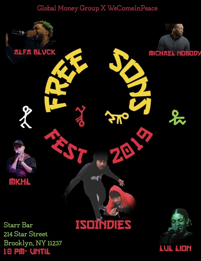 Get Information and buy tickets to Free Sons Fest 2019  on Global Money Group LLC