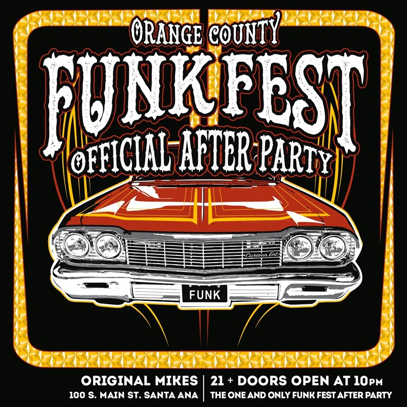 OC FUNKFEST 2019 - AFTER PARTY