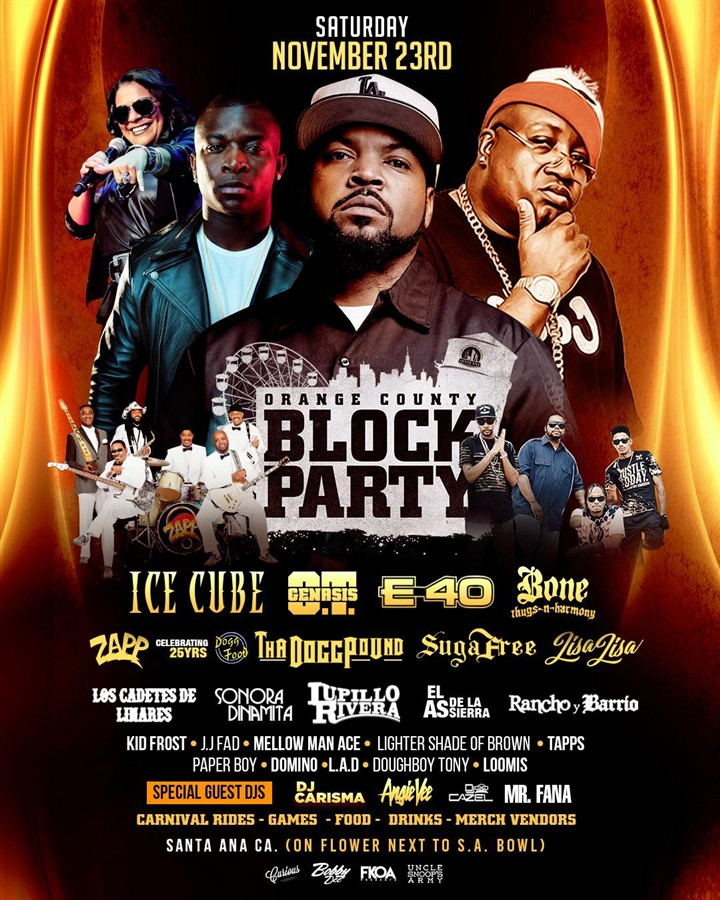 Get Information and buy tickets to OC BLOCK PARTY 2019 CURIOUS ENTERTAINMENT PRESENTS on Curious Entertainment