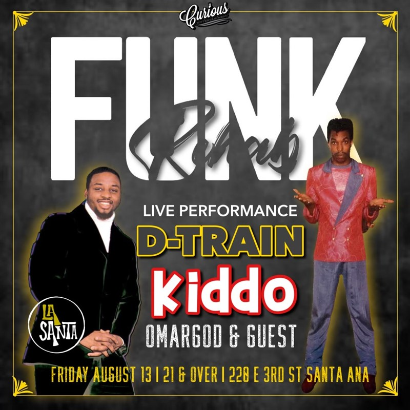 Get Information and buy tickets to FUNK REHAB CURIOUS ENTERTAINMENT PRESENTS on Curious Entertainment