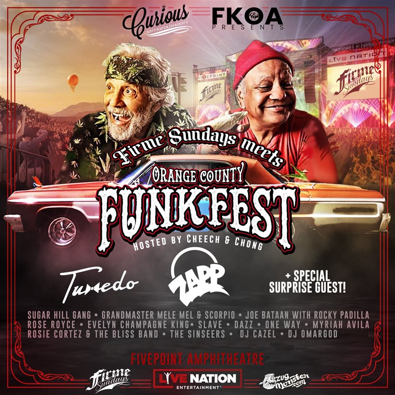 Get Information and buy tickets to FIRME SUNDAYS MEETS ORANGE COUNTY FUNKFEST CURIOUS ENTERTAINMENT PRESENTS on Curious Entertainment