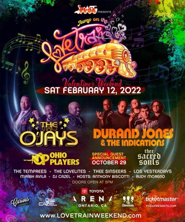Get Information and buy tickets to JUMP ON THE LOVE TRAIN CURIOUS ENTERTAINMENT on Curious Entertainment