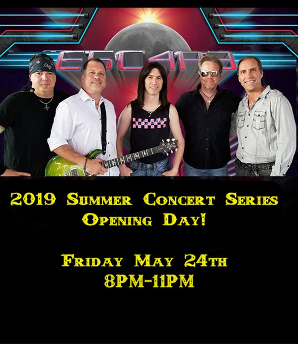 Pavilion @ The Inn Presents: E5C4P3 a Tribute to Journey 2019 Summer Concert Series on May 24, 20:00@Aurora Inn Hotel & Event Center - Pick a seat, Buy tickets and Get information on Pavilion @ The Inn