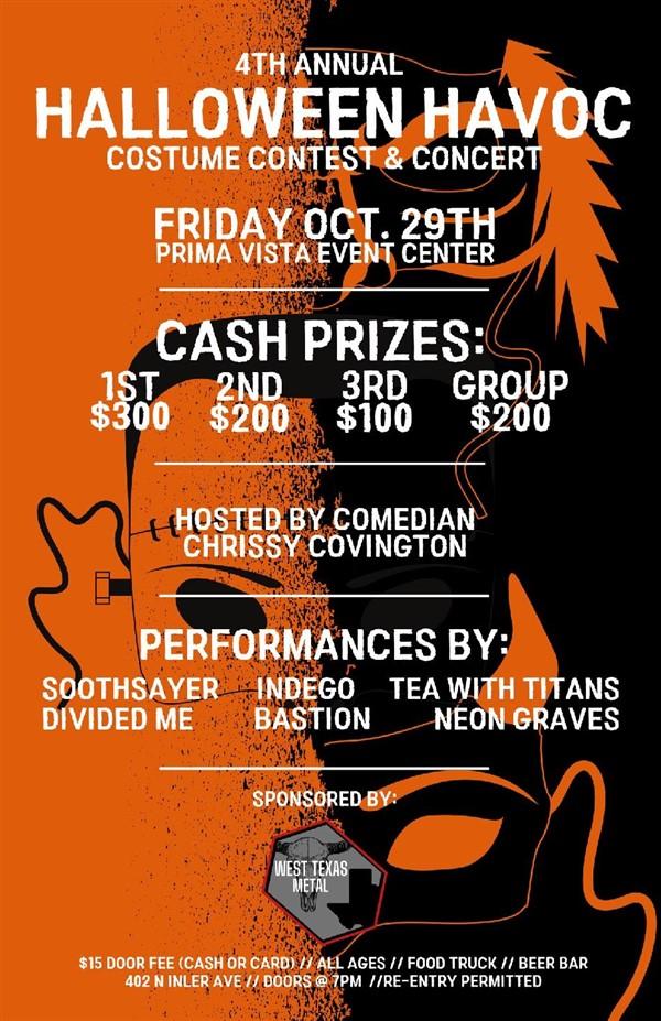 Get Information and buy tickets to Halloween Havoc  on Prima Vista Event Center